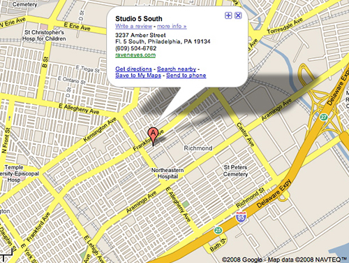 http://studio5south.raveneyes.com/map.jpg